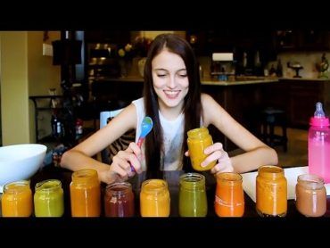 Gross…Kaelyn Does the Baby Food Challenge!